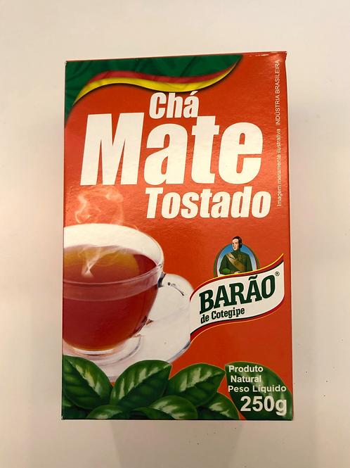 Cha Mate Tostado 250g Barão De Cotegipe