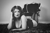 Studio boudoir photography