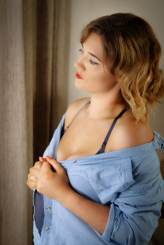 Button Down Shirt for Boudoir Photography