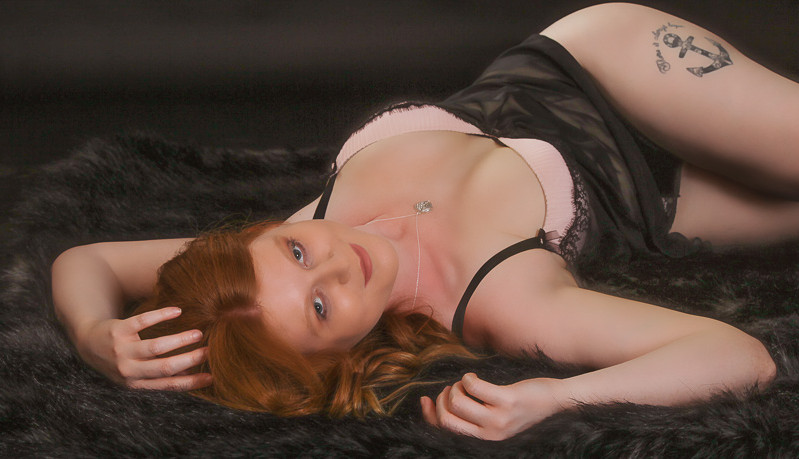 Enticing Boudoir Photography