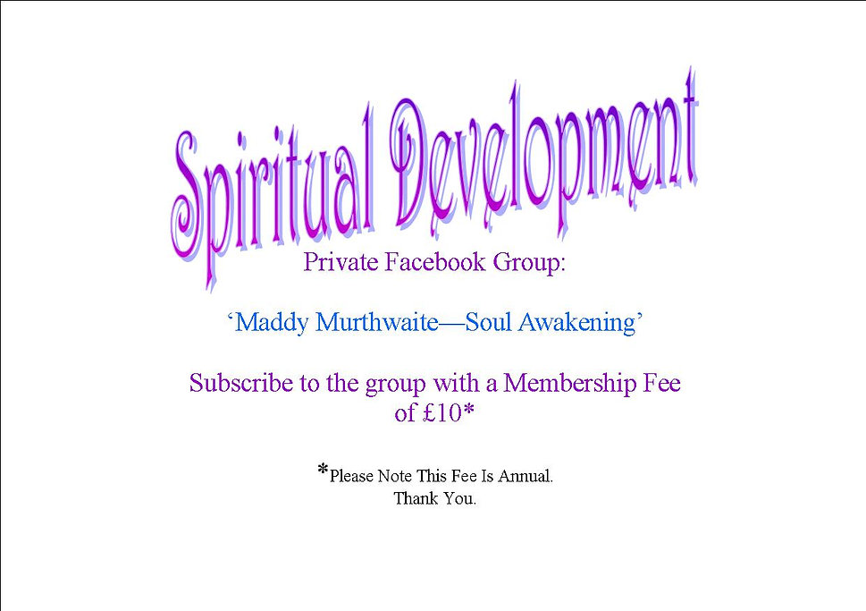 Spiritual development ad for Soul Awaken