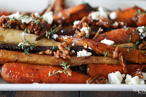 Glazed Carrots w/Candied Pecans (32 oz)