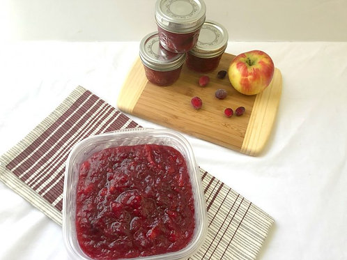 Cranberry and Apple Conserve (11 oz)