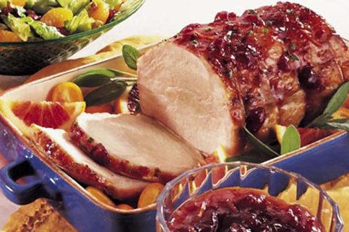 Slow Roasted Cranberry Pork Roast