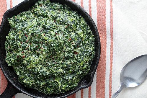 Creamed Spinach w/Roasted Garlic (32 oz)