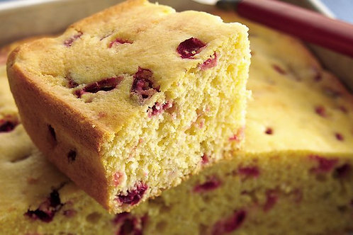 Cornbread w/Cranberries