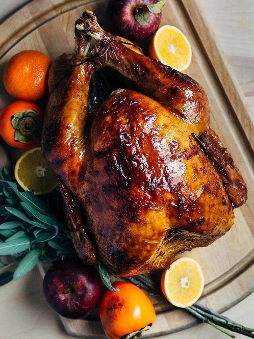 Roasted Turkey w/Sage Butter
