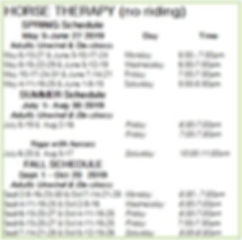 Equine Therapy 2019 schedule.JPG