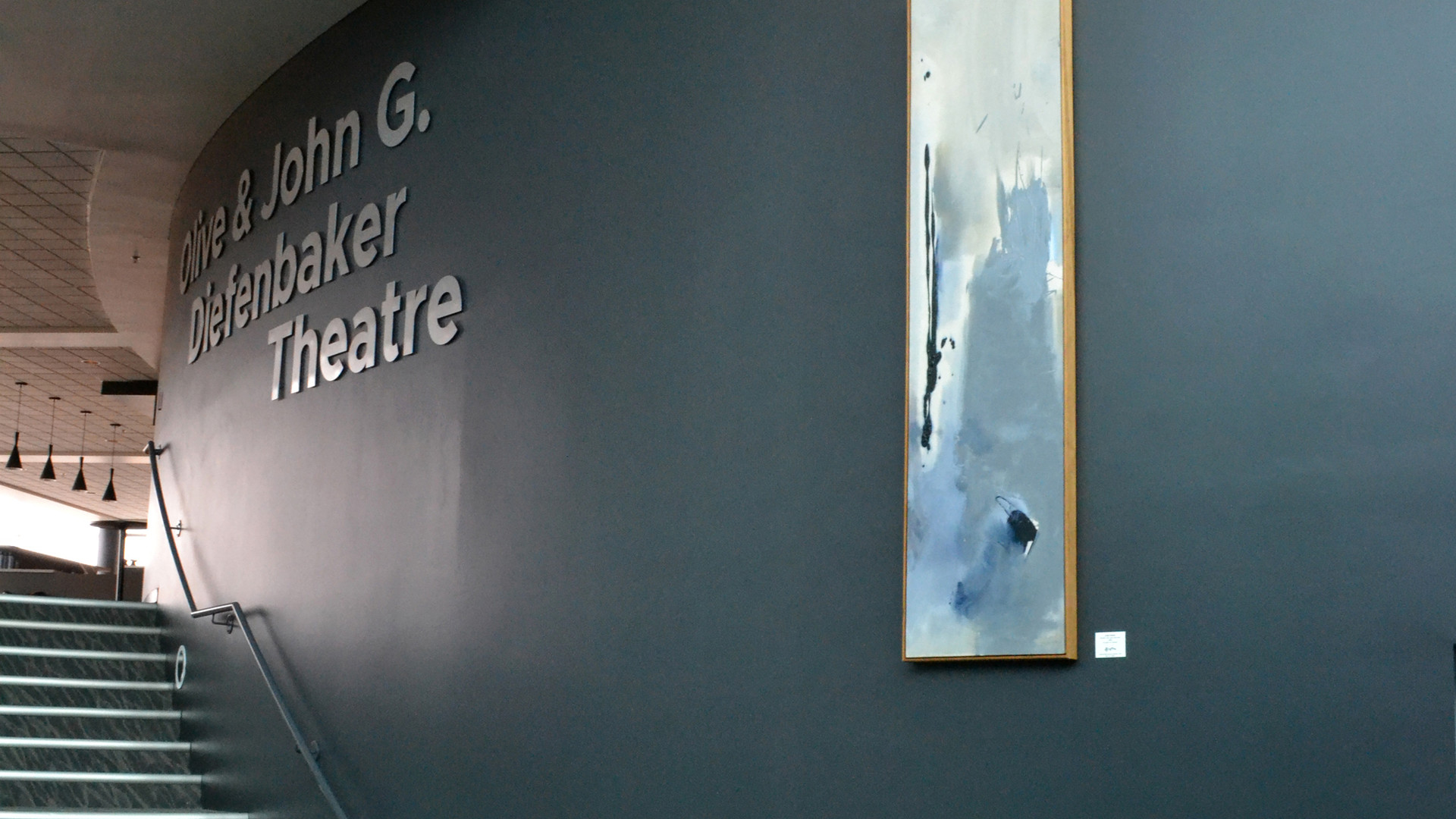 Linda Chartier at the E.A. Rawlinson Centre for the Arts