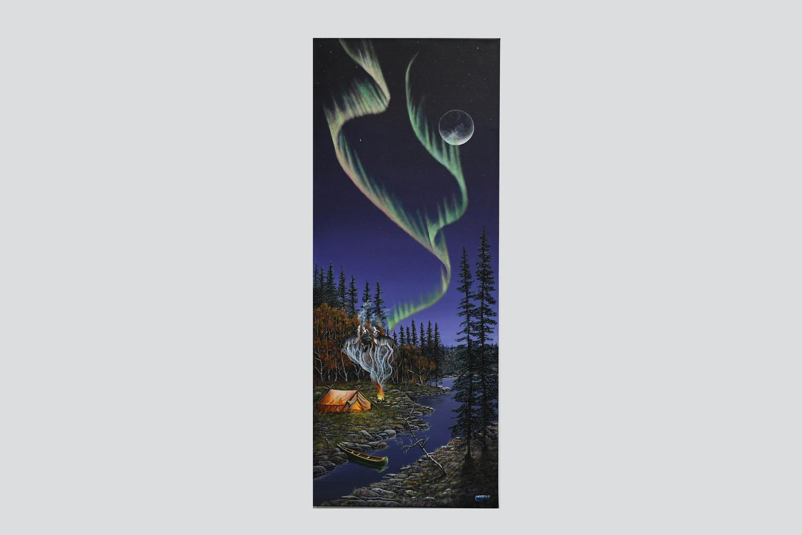 Achak Maihken (Spirit Wolves) by Earl McKay