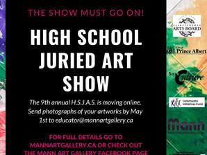 9th Annual High School Juried Art Show