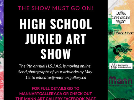 9th Annual High School Juried Art Show