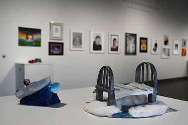 10th Annual High School Juried Art Show, installation shot, 2021.jpg