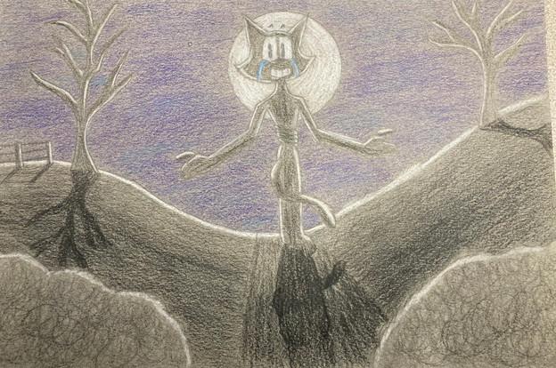 Brendan Daylight, Untitled, coloured pencil, PACI: Gr. 10