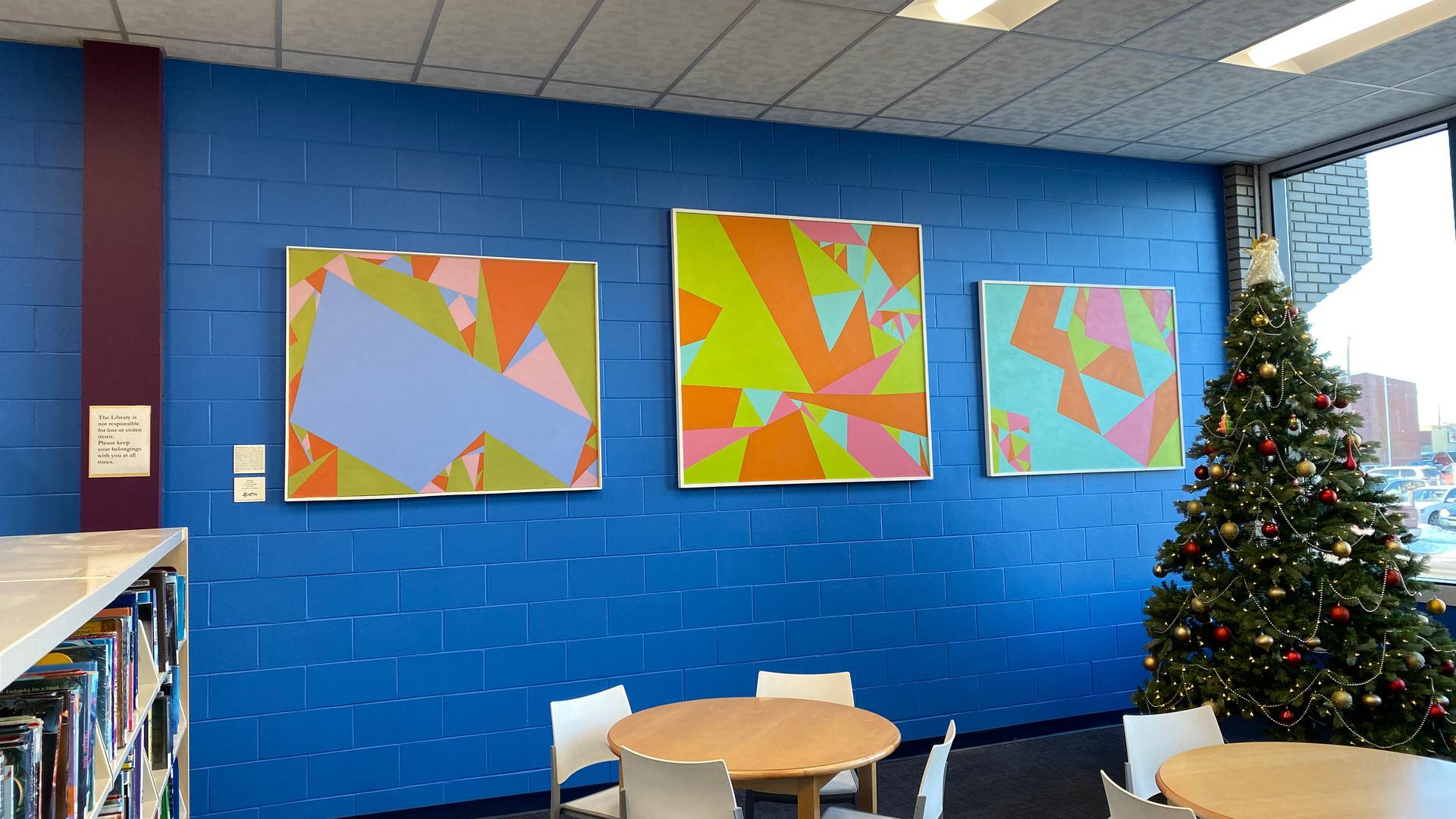 Mina Forsyth Paintings at JMCPL