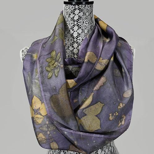 Silk Habotai Infinity Scarf by Donna Stockdale