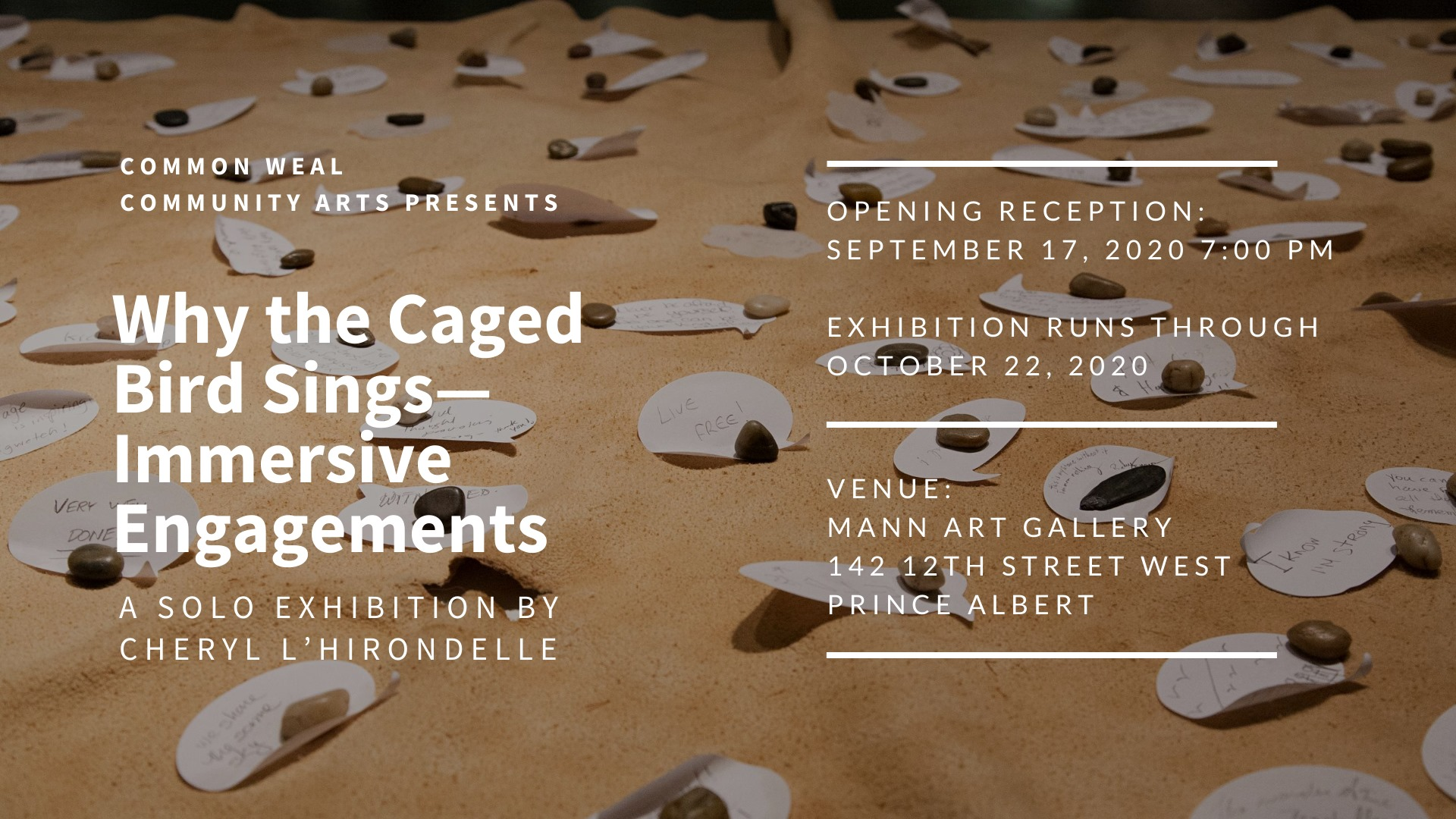 Why the Caged Bird Sings - Immersive Engagements