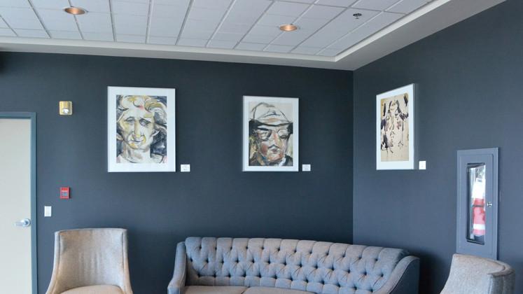 Mina Forsyth Portraits at the E.A. Rawlinson Centre for the Arts