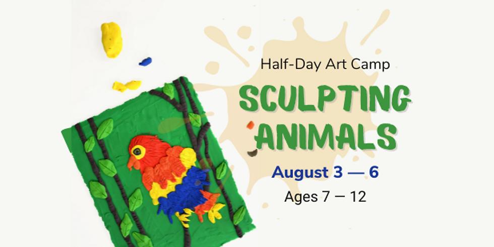 Art Camp 2: Sculpting Animals (Ages 7 - 12)