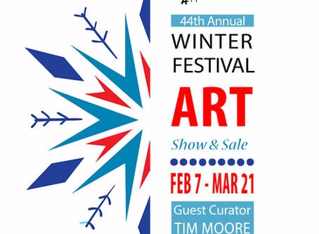 Artist Tim Moore to Curate 44th Annual Winter Festival Art Show & Sale!