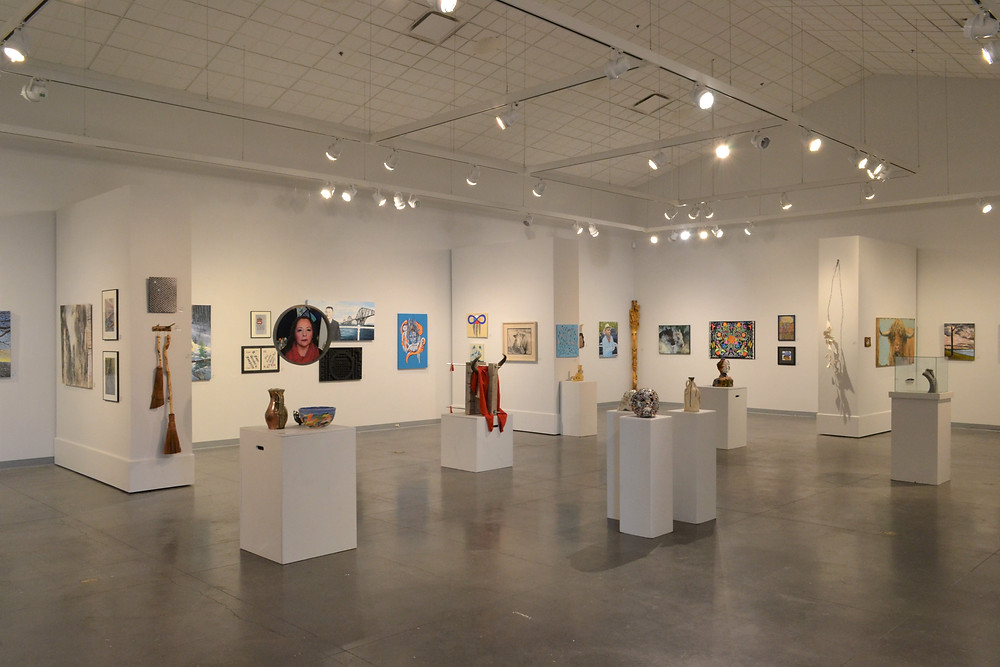 Main Gallery of the 2020 Winter Festival Art Show & Sale