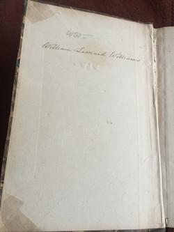 Atlas Inscription