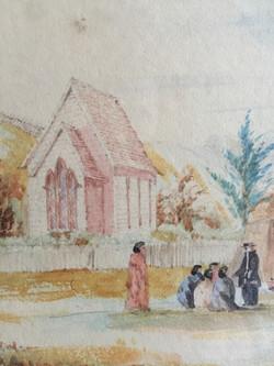Detail - Paihia Church