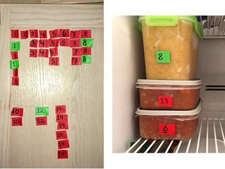 My Freezer Organizing System