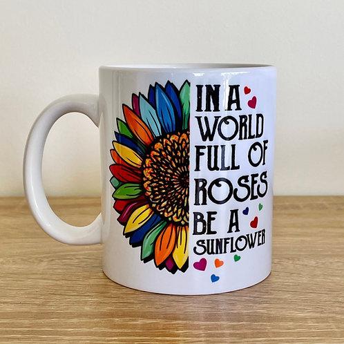 Be A Sunflower Mug