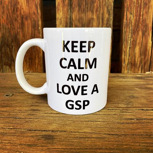 Keep Calm GSP Mug