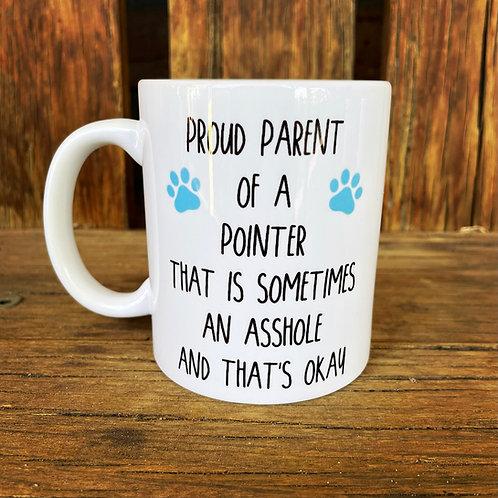 Proud Parent of a Pointer Mug