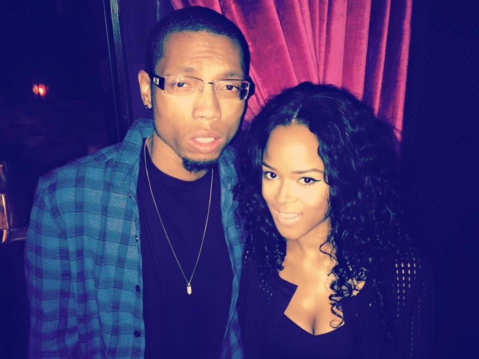 Jhawk & Serayah At Her Release Party