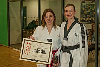 Stacey Cockbill Sandwell Tae Kwon Do