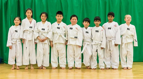 white bels Sandwell Tae Kwon Do West Midlands Marial Arts Claire Southall