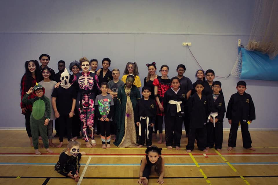 Our team had fun dressing up for a Halloween themed exercise session held at West Bromwich Leisure Centre, Moor Street, B70 7AZ