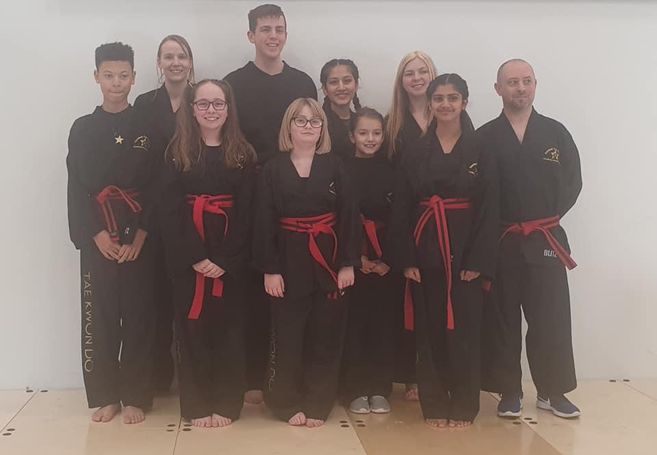 Black Belts Sandwell TKD