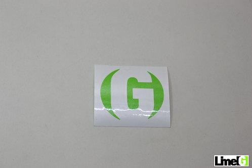 Round G Sticker