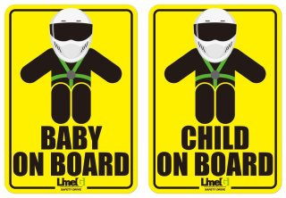 ON BOARD STICKER