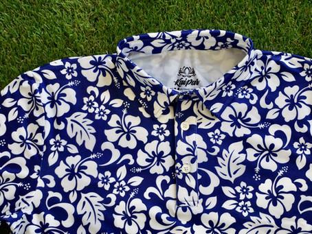 Kaipar drops newest addition of Hawaiian Golf Shirts!