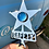 License plate topper Safety Stars