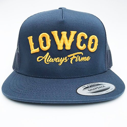 Lowco Navy & Yellow/gold hat