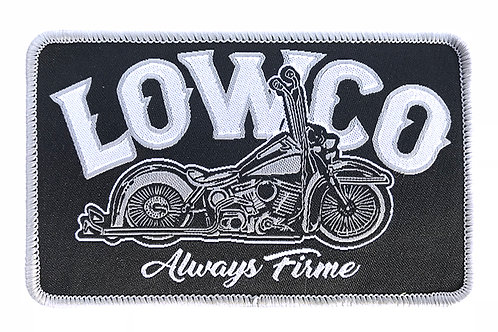 Lowco Gray & Black Patch