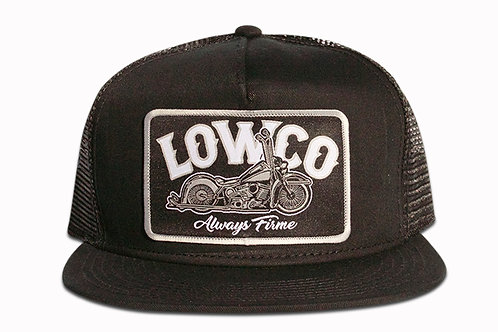 Lowco Patch Black Trucker Hat