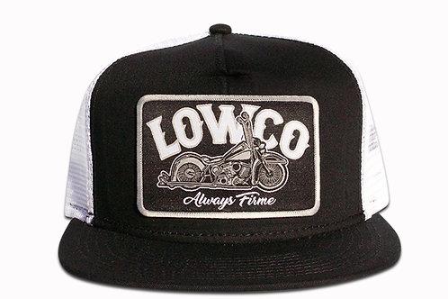Lowco Patch Black & White Trucker Hat