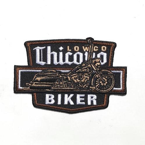 Chicano Biker Patch