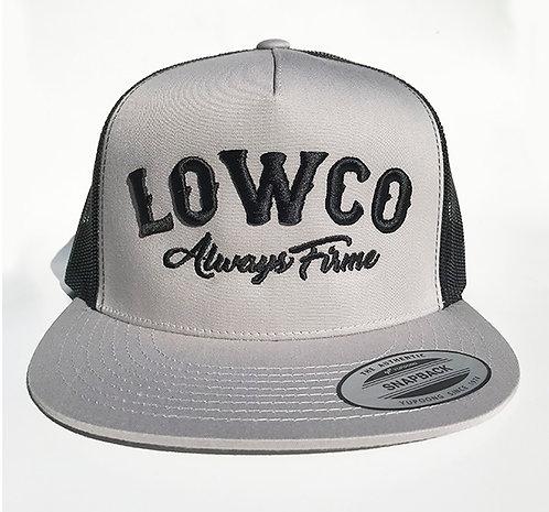 Lowco Gray & Black Trucker Hat