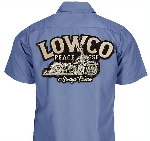 Lowco County Blue Work Shirt