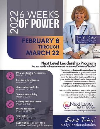 Next Level Leadership Program Tina E. Gilbert September 2021 B.jpg