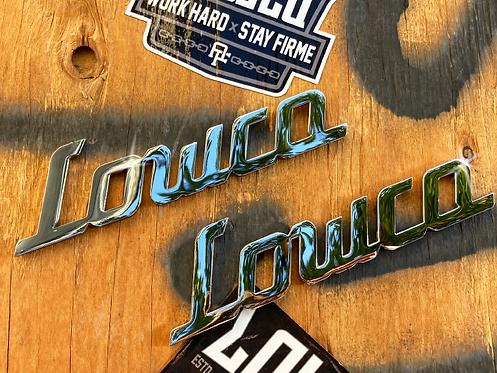 Lowco Emblem Badges (Pair)