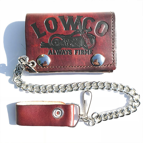 Trifold Lowco Wallet w/ Chain